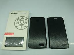 Чехол-книжка Flip Cover для Lenovo A398t Black