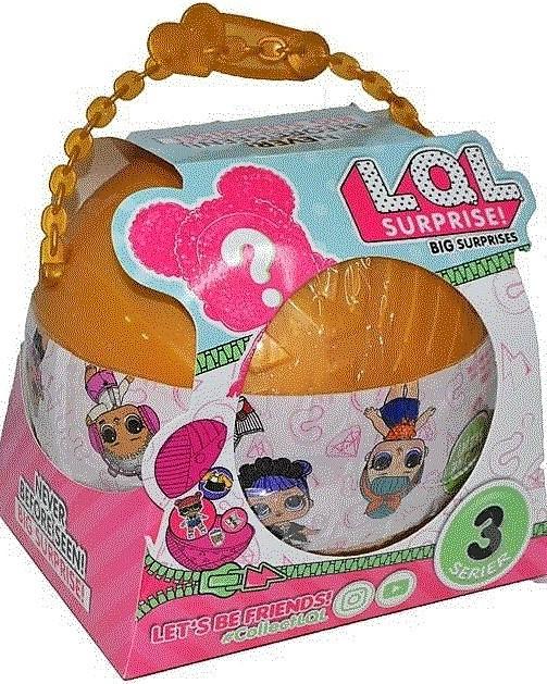 Кукла Лол в большом шаре и ещё 9 шариков
