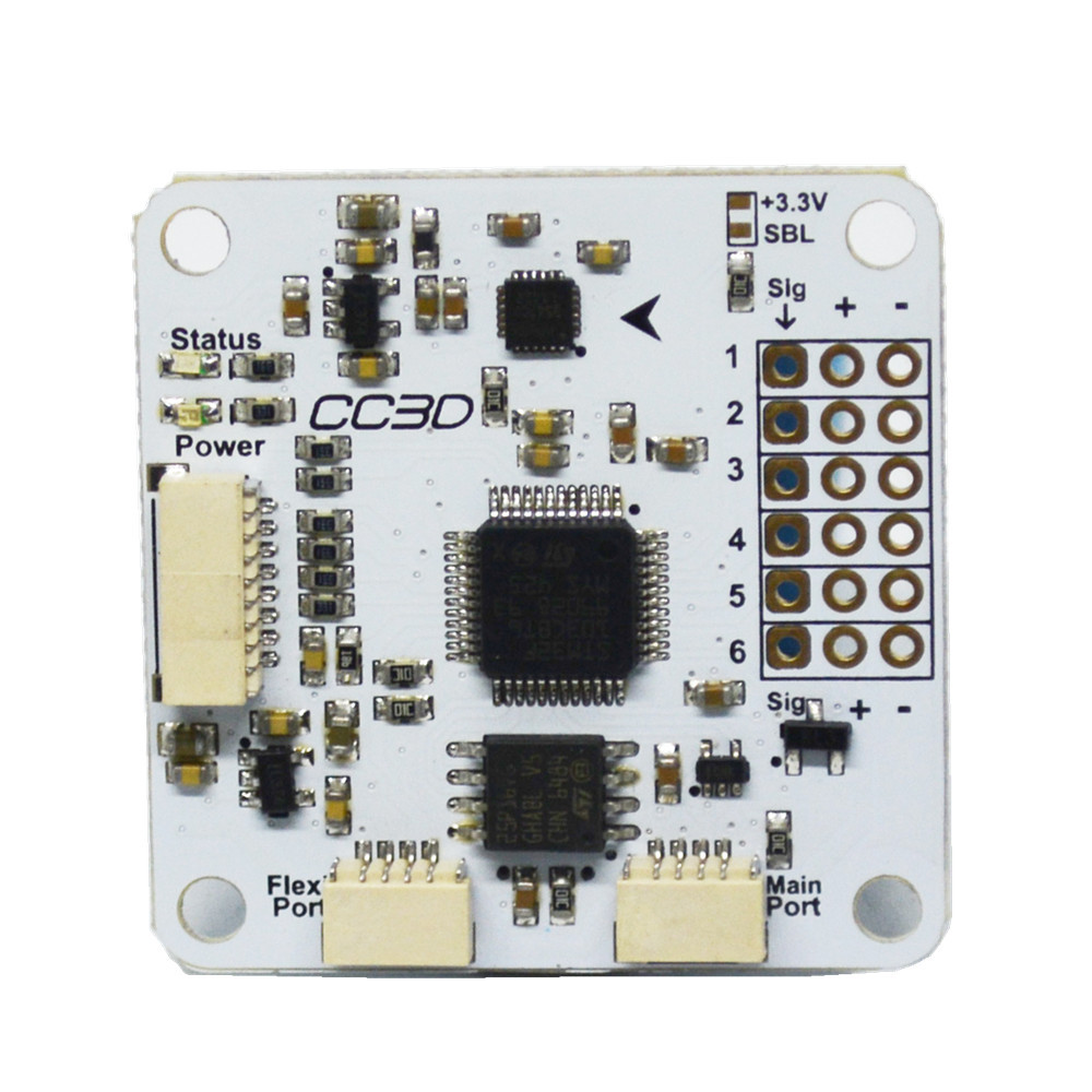 Betaflight / Openpilot CC3D Pro Flight Controller 3S с Protective Чехол для RC Дрон FPV Racing - 1TopShop