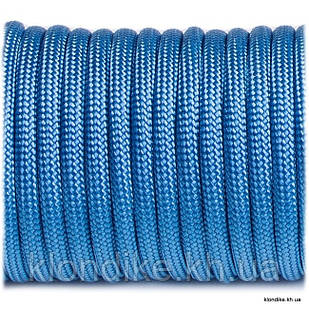 Паракорд, 4 мм, Цвет: Голубой океанический