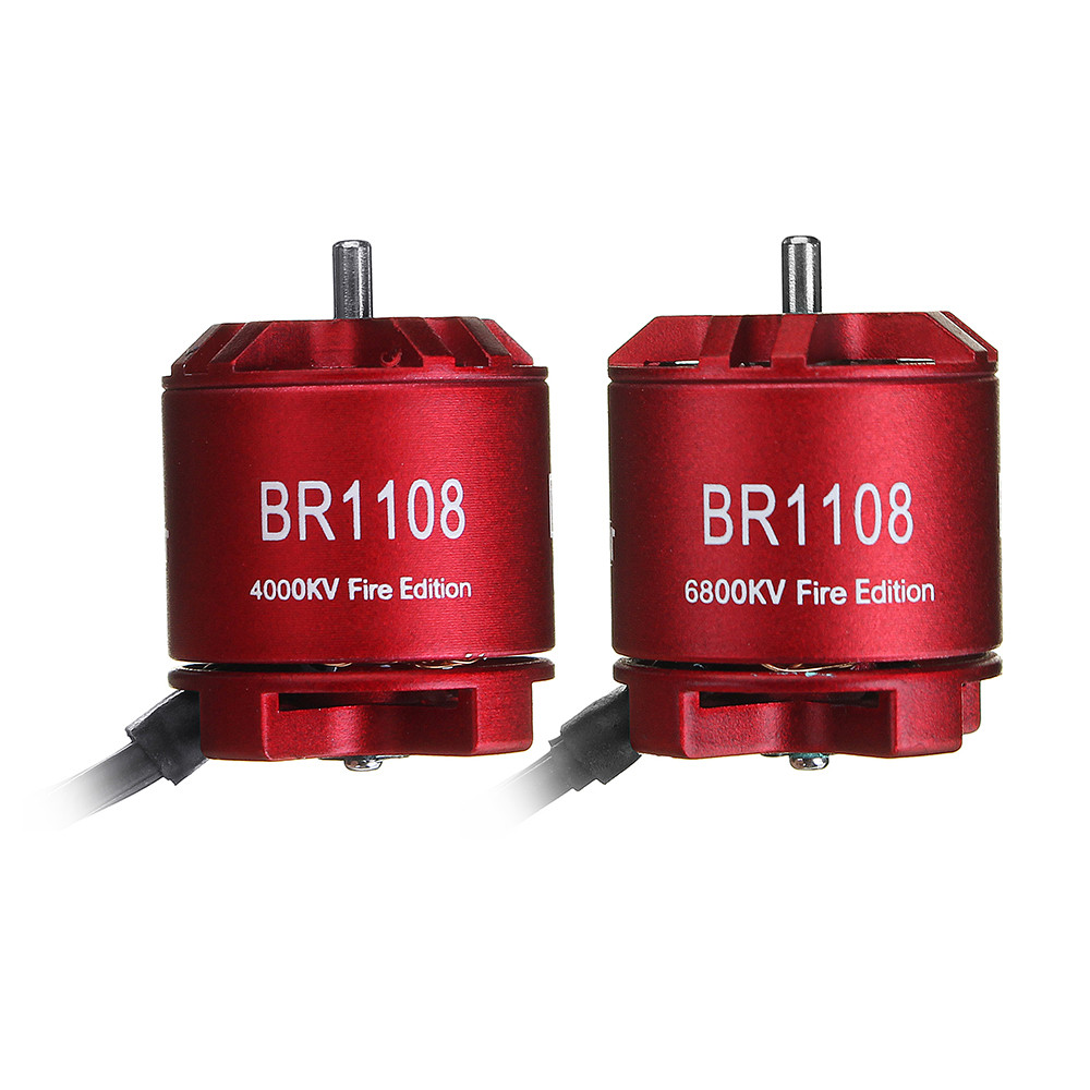 Racerstar 1108 BR1108 Fire Edition 4000KV 6800KV Бесколлекторный мотор для RC Дрон FPV Racing Multi Rotor - 1TopShop