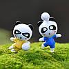 24PCS Panda Bear Кукла Миниатюрный DIY Микро Ландшафт Растение Дом Декор Аксессуары Игрушка - 1TopShop, фото 6
