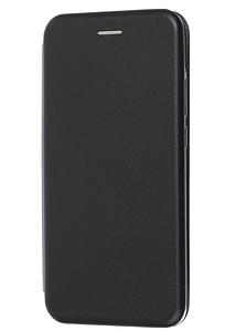 Чехол (книжка) премиум для Xiaomi Mi Play чёрная
