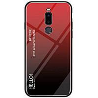 Чехол-накладка Gradient HELLO для Meizu Note 8