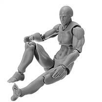 Figma Archetype Action Рисунок 2.0 Тело Мужское Серый Цвет Модель Кукла Для украшения - 1TopShop, фото 2