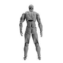 Figma Archetype Action Рисунок 2.0 Тело Мужское Серый Цвет Модель Кукла Для украшения - 1TopShop, фото 3