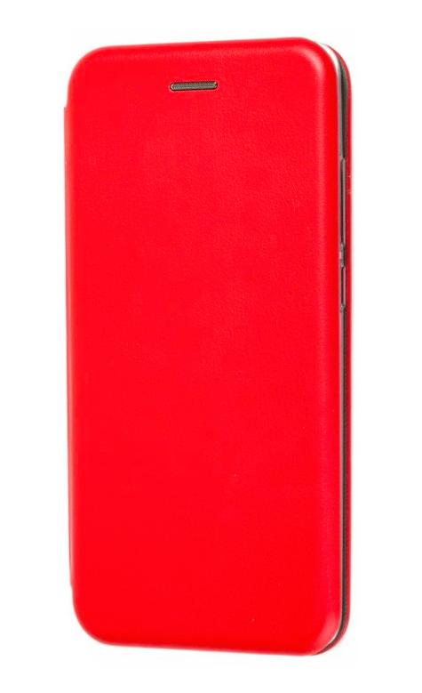Чехол (книжка) премиум для Xiaomi Mi Play красная