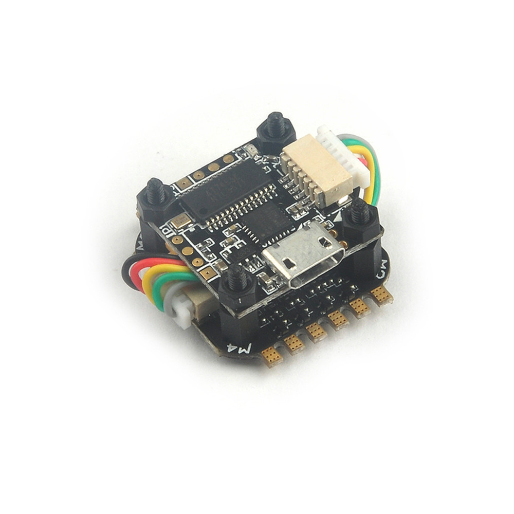 16x16mm TeenyF3 Pro Flytower F3 OSD Flight Controller C Конвертер Buck-Boost и 5A BL_S DShot600 ESC - 1TopShop