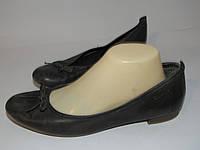 Tamaris кожаные туфли-балетки 39р (25.5см) A13