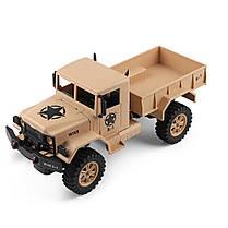 Wltoys1243011/122.4G4WD45 см 390 Bruied Rc Авто 1.2kg Грузовая внедорожная Военный Грузовик RTR Toy - 1TopShop, фото 2