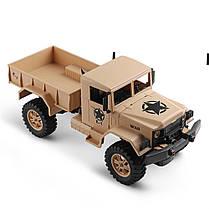 Wltoys1243011/122.4G4WD45 см 390 Bruied Rc Авто 1.2kg Грузовая внедорожная Военный Грузовик RTR Toy - 1TopShop, фото 3