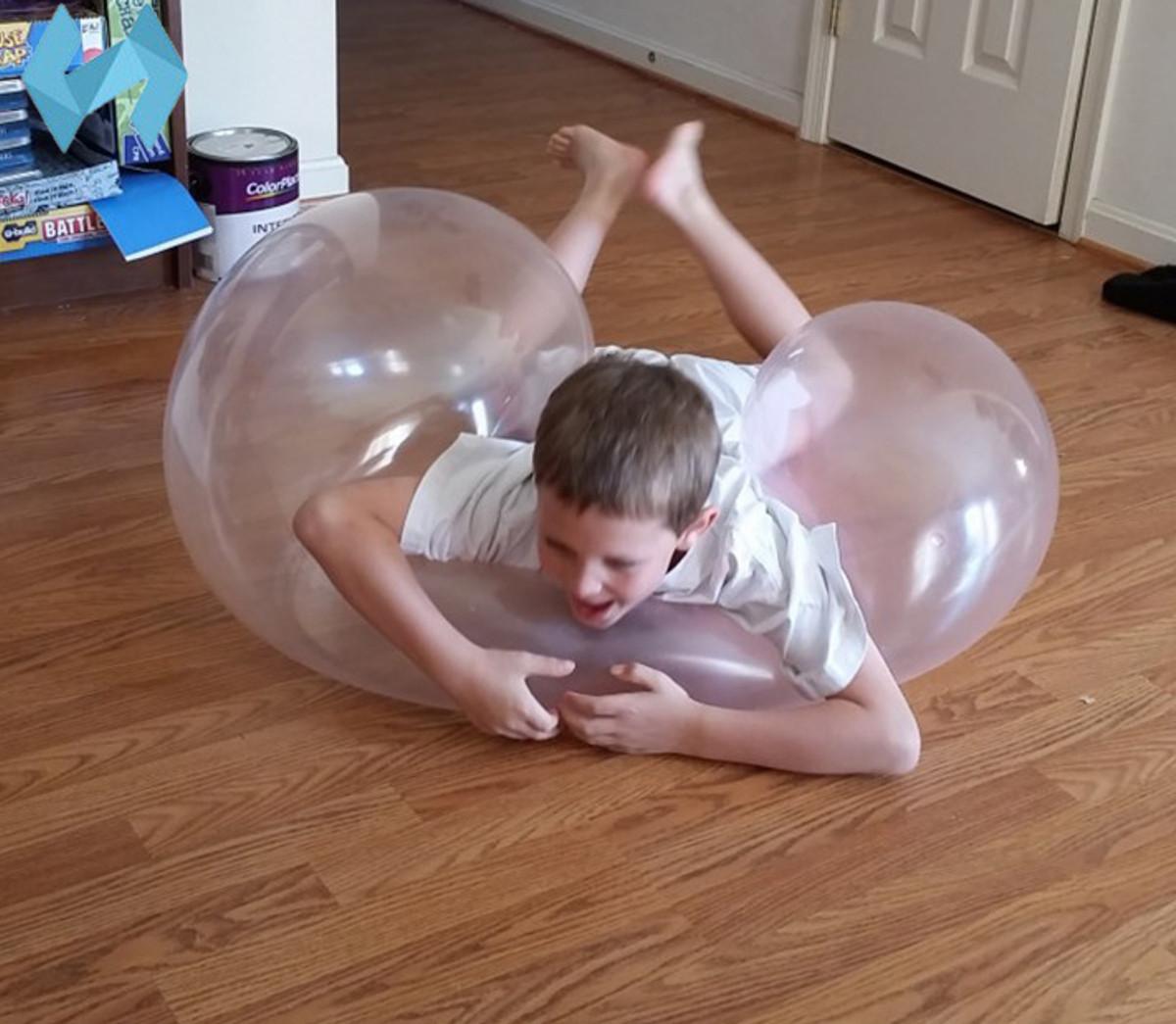 1M Amazing Tear Resistant WUBBLE Bubble Ball Kids Надувная игрушка На открытом воздухе Воспроизвести - 1TopShop