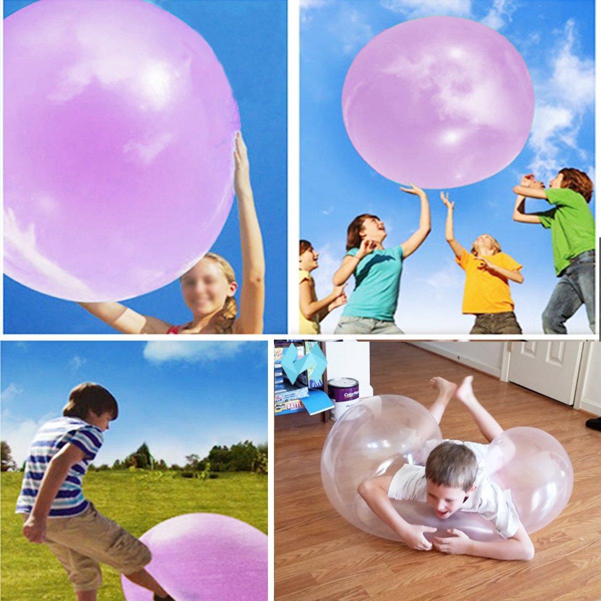 1 Meter Огромный Amazing Tear Resistant WUBBLE Bubble Ball Kids Надувные игрушки - 1TopShop