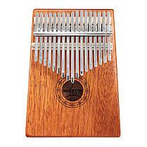 17 ключей Дерево Kalimba Mahogany Thumb Фортепиано Перкуссия с настройкой Hammer - 1TopShop, фото 2