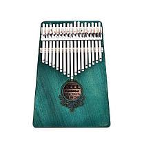 17 Ключи Красное дерево Вуд Калимба Африканское пальто Пианино Мини Клавиатура Перкуссионный инструмент - 1TopShop, фото 2