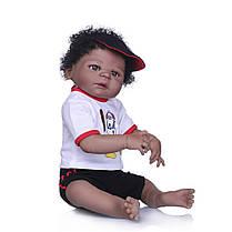 NPK 23 '' Полный винил Reborn Baby Кукла Lifelike Boy Красивый реалистичный Силиконовый Baby Кукла Toy - 1TopShop, фото 3