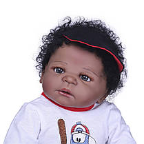NPK 23 '' Полный винил Reborn Baby Кукла Lifelike Boy Красивый реалистичный Силиконовый Baby Кукла Toy - 1TopShop, фото 2