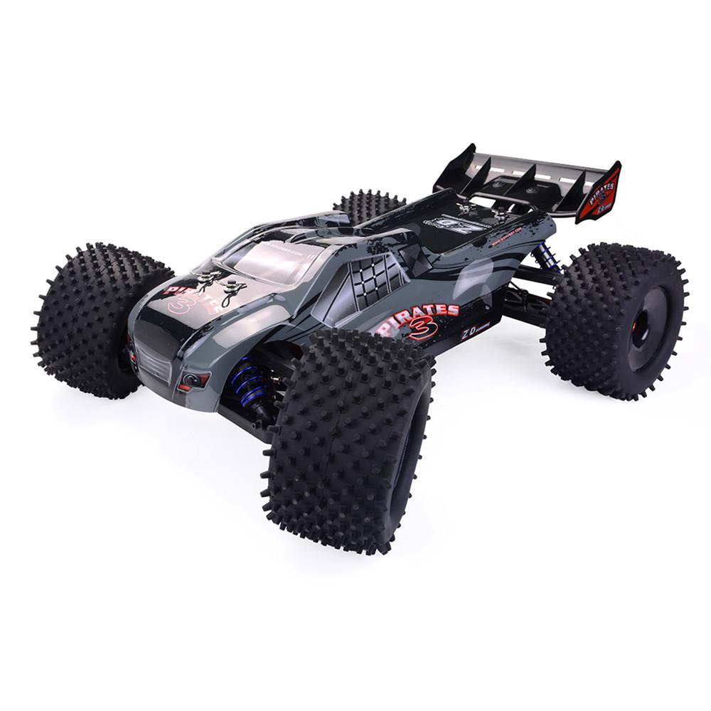 ZDRacing9021-V31/82.4G4WD 80 км / ч Бесколлекторный Rc Авто Полный Шкала Электрический Truggy RTR Toys - 1TopShop
