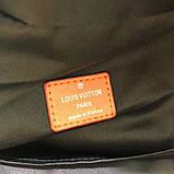 Рюкзак Луи Витон  канва Damier Cobalt Race, кожаная реплика, фото 4
