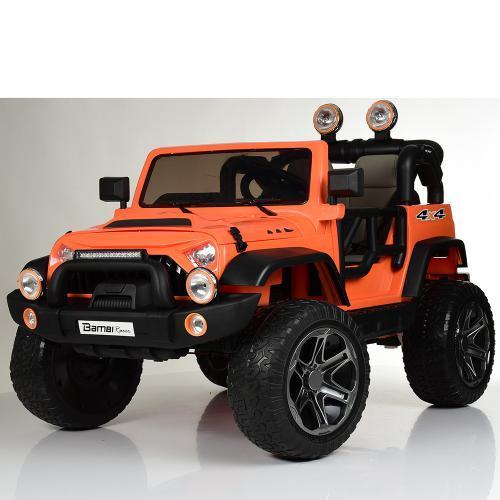 Электромобиль Джип M 4111EBLR-7 оранжевый