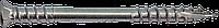 Шуруп с потайной головкой две резьбы для террасной доски 5.0х80 мм (упаковка 200 шт.)