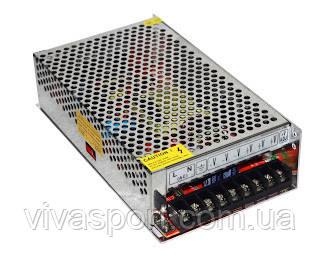 Блок питания 12V 15A металл, адаптер 15 А METAL