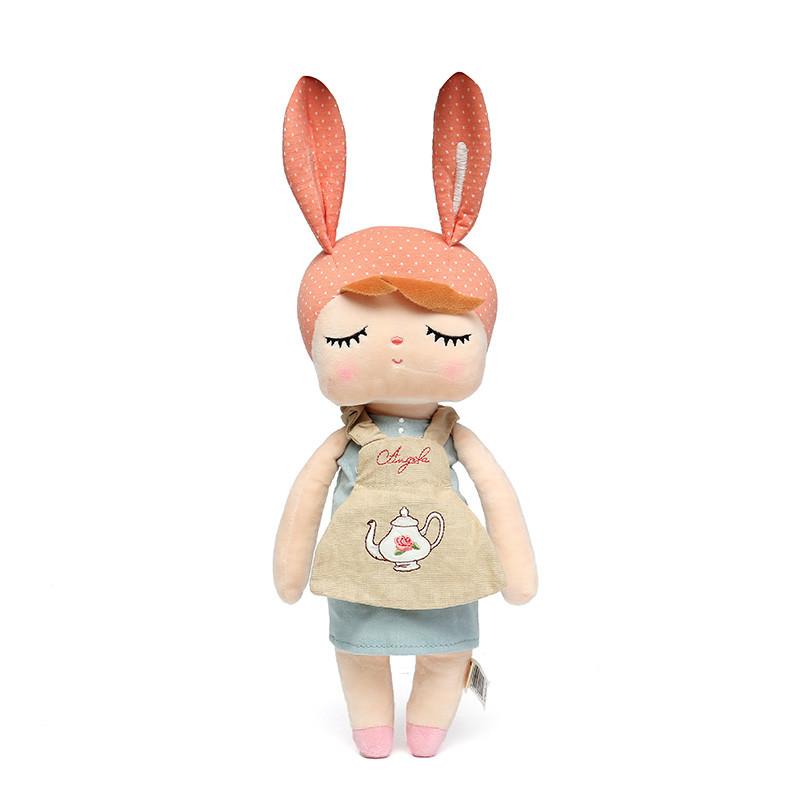 Metoo Angela Plush Lace 33CM Куклы кролика Мягкие игрушки для детей - 1TopShop