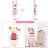 Metoo Angela Plush Lace 33CM Куклы кролика Мягкие игрушки для детей - 1TopShop, фото 4