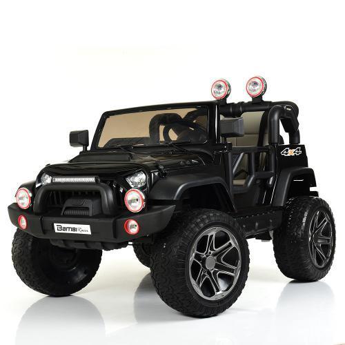 Электромобиль Джип M 4111EBLR-2 черный