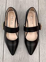 Туфли женские 8 пар в ящике черного цвета 35-40, фото 2
