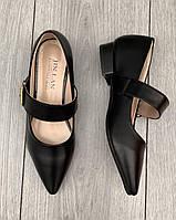 Туфли женские 8 пар в ящике черного цвета 35-40, фото 3