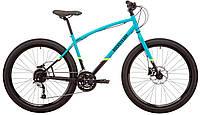 """Велосипед 27,5"""" Pride Rocksteady 7.2 голубой-черный M 2019"""