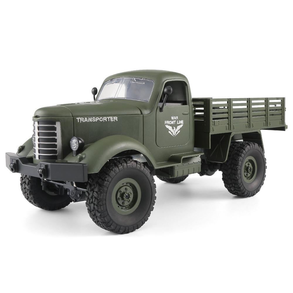JJRC Q61 1/16 2.4G 4WD Внедорожник Военный Грузовик Гусеничный RC Авто - 1TopShop