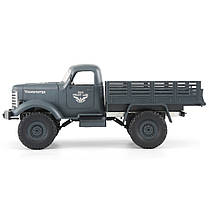 JJRC Q61 1/16 2.4G 4WD Внедорожник Военный Грузовик Гусеничный RC Авто - 1TopShop, фото 2