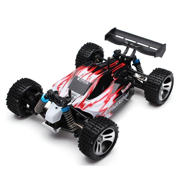 Wltoys A959 Rc Авто 1/18 2.4G 4WD Off Road Buggy Truck RTR Toy - 1TopShop
