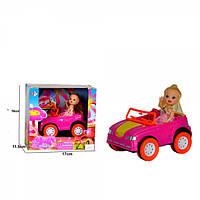 Кукла 68115, 10см, машинка, 12, 5см, в кор-ке, 17-16-11, 5см