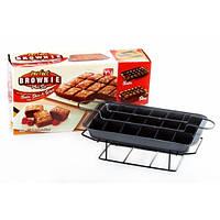 Удобная форма для выпечки Perfect Brownie, Перфект Брауни, фото 1