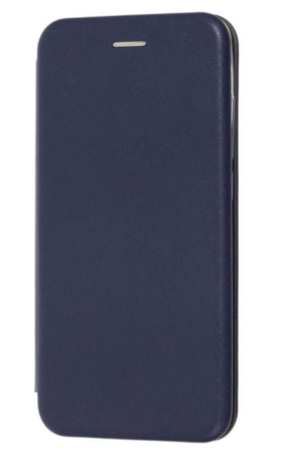 Чехол (книжка) премиум для Xiaomi Redmi Go синяя