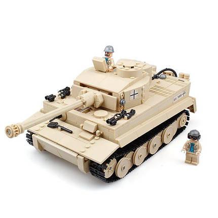 Kazi 995Pcs Немецкий тигр танк здания блоки игрушки образовательный подарок # 82011 Fidget Toys - 1TopShop, фото 2