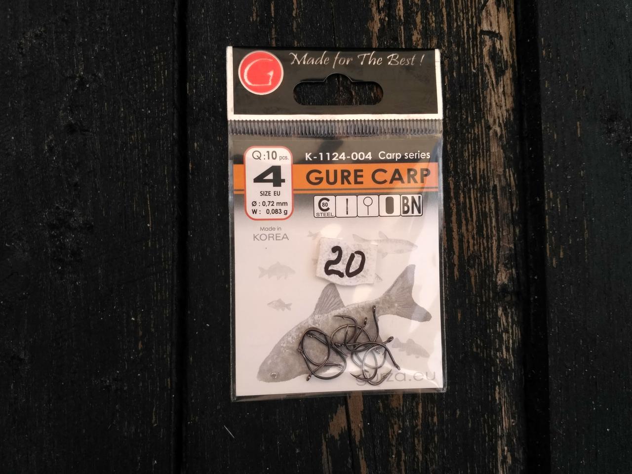 Гачки Gurza gure carp № 4 (K-1124-004)