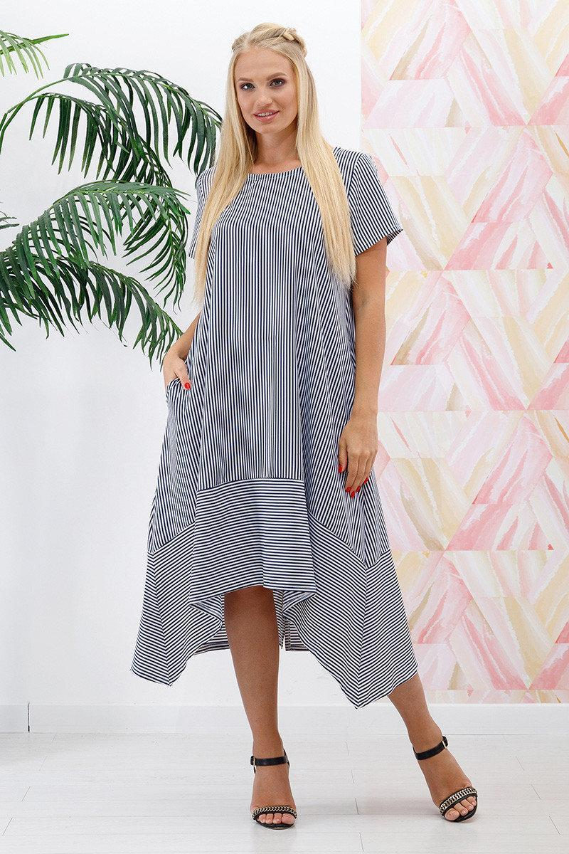 Платье оверсайз с 48 по 58 размер