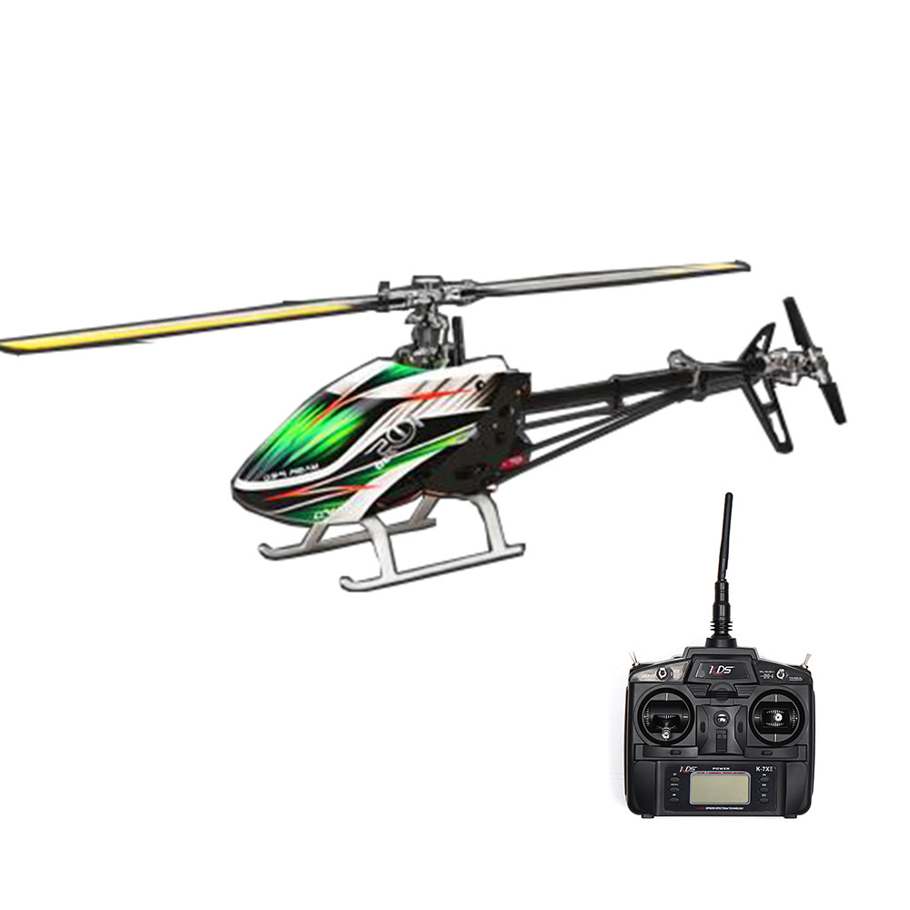 KDS 450BD FBL 6CH 3D Flying RC Вертолет RTF с EBAR V2 Gyro ' - 1TopShop