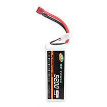 XF POWER 7.4 В 5200 мАч 60C 2S Lipo Батарея T Plug для 1/8 1/10 RTR RC Авто - 1TopShop, фото 3