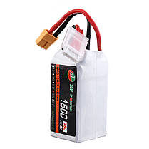 XF POWER 18.5 В 1500 мАч 75C 5S Lipo Батарея XT60 Разъем для FPV Racing Дрон - 1TopShop, фото 2