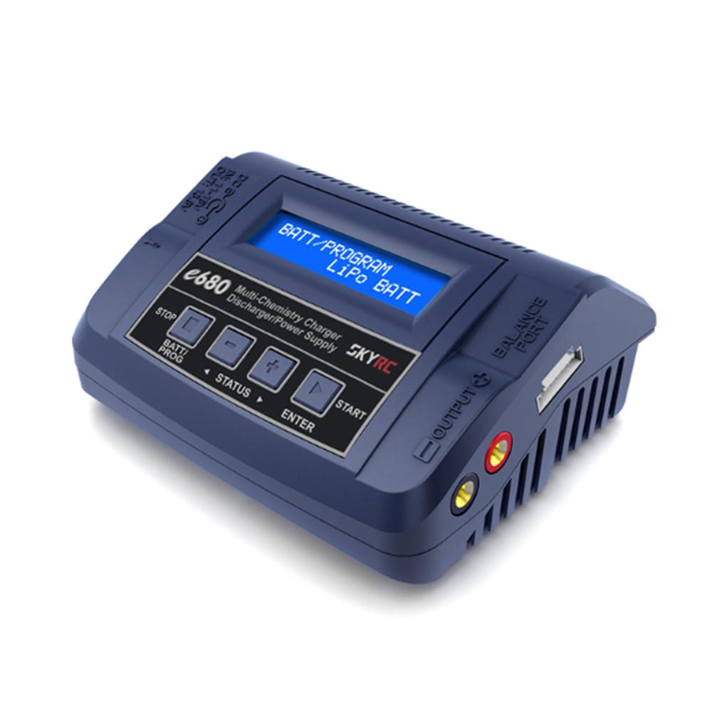SKYRC e680 80W 8A AC / DC баланс зарядное устройство для 1-6S Lipo Батарея - 1TopShop