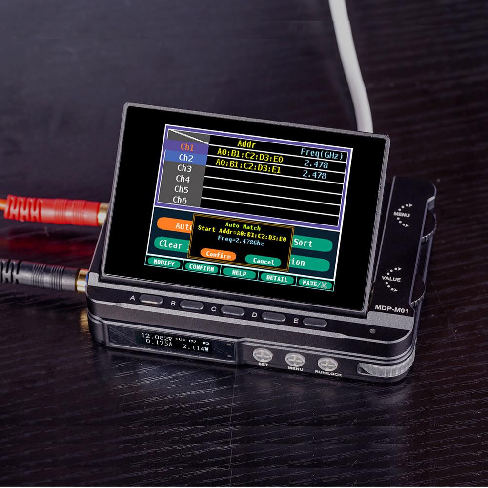 MINI MDP-XP Mini 30 В / 5A 90 Вт 2.4 ГБ Беспроводное подключение Цифровая программируемая система питания с 2.8-дюймовым экраном TFT Монитор