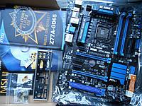 Топовая материнская плата на Socket 1155 - MSI Z77A-GD65 (MS-7751 VER: 2.1) Socket 1155 - в идеале!!!