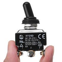 KEDU HY29D 250V DPDT On-On 6 Болт Тумблер для электроприборов - 1TopShop, фото 2