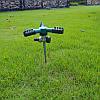 НасадкадляразбрызгивателягазоновАвтоматическая360 Вращающаяся Сад Распылитель воды Цинковый сплав - 1TopShop, фото 2