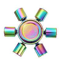Красочныепоршни6-SpinnerFidgetHandSpinner ADHD Аутизм Уменьшить стресс Фокус Внимание Игрушки - 1TopShop